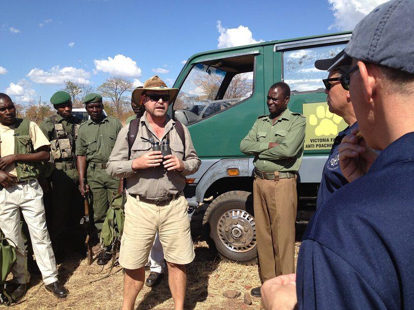 Charles Brightman of the VFAPU talks to US Ambassadors